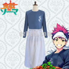 New! Shokugeki no Soma Food Wars Yukihira Sōma Cosplay Costume