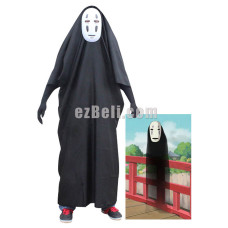 New! Spirited Away No-Face Kaonashi Cosplay Costume