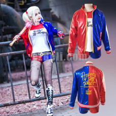 New! Suicide Squad Harley Quinn Cosplay Costume