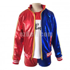 New! Suicide Squad Harley Quinn Cosplay Jacket