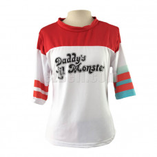 New! Suicide Squad Harley Quinn Cosplay T-Shirt