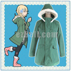 New! The Rolling Girls Nozomi Moritomo Cosplay Long Jacket Costume