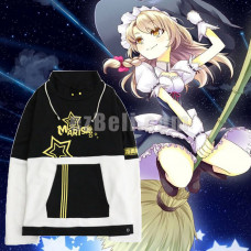 New! Touhou Project Kirisame Marisa Fancy Magic Sweatshirts Pullover Hoodie Jacket