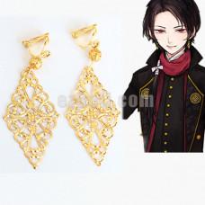 New! Touken Ranbu Kashuu Kiyomitsu Cosplay Prop Earrings