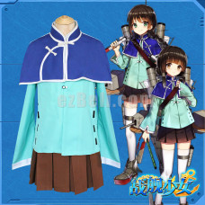New! Warship Girls Cosplay Costume