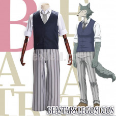New! Anime Beastars Legosi Regoshi Gray Wolf Cosplay Costume