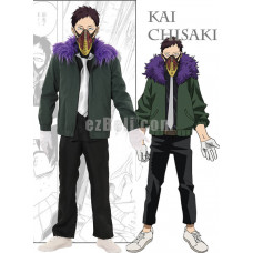 New! Anime My Hero Academia Boku no Hero Academia Kai Chisaki Cosplay Costume