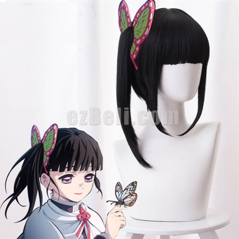 New! Anime Demon Slayer Kimetsu no Yaiba Tsuyuri Kanawo Cosplay Wig