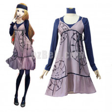 New! Anime Game Persona 5 Mifune Chihaya Dress Cosplay Costume