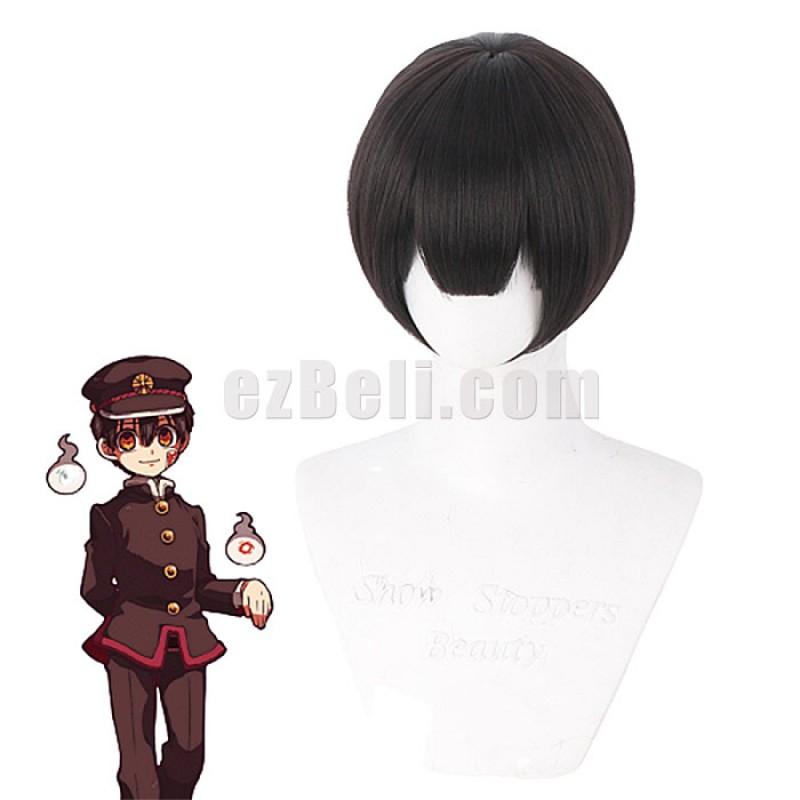 New! Anime Toilet-bound Hanako-kun Hanako-kun Hanako Yugi Amane Men Short Straight Black Cosplay Wigs