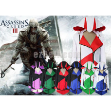 New! Assassin's Creed 3 Connor Kenway Hoodie Jacket