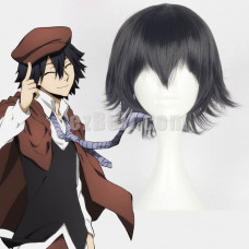 New! Bungou Bungo Stray Dogs Ranpo Edogawa Cosplay Wig