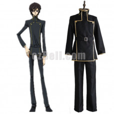 New! Anime Code Geass Lelouch Lamperouge School Uniform Cosplay Costume