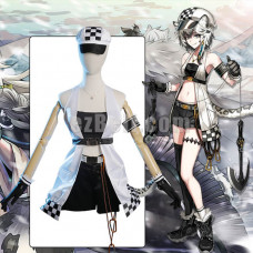 New! Game Arknights Cliffheart Dress Cosplay Costume