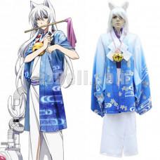 New! Anime Gugure! Kokkuri-san Kimono Cosplay Costume