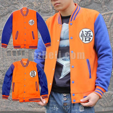 New! Anime Dragon Ball Z Long Sleeves Baseball Jacket