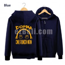 New! Oppai One punch-man Saitama Hoodie Jacket Type B