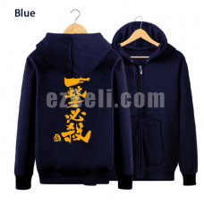 New! Oppai One punch-man Saitama Hoodie Jacket Type D