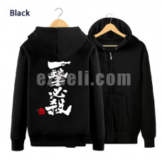 New! Oppai One punch-man Saitama Hoodie Jacket Type E