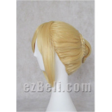 Fate/Stay Night Saber Blonde Cosplay Wig