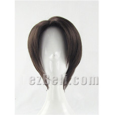 Attack on Titan Levi Brown Cosplay Wig