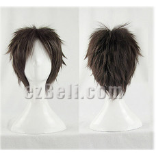Attack on Titan Dark Brown Eren Jaeger Cosplay Wig
